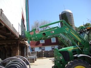 pushing the barn to true