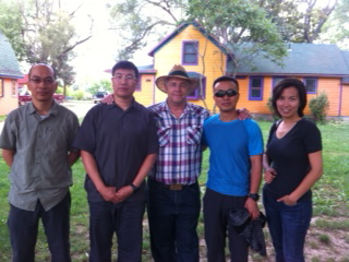 Jun Shi, Mingyuan Wang, Farmer John, Hao Wu and Interpreter