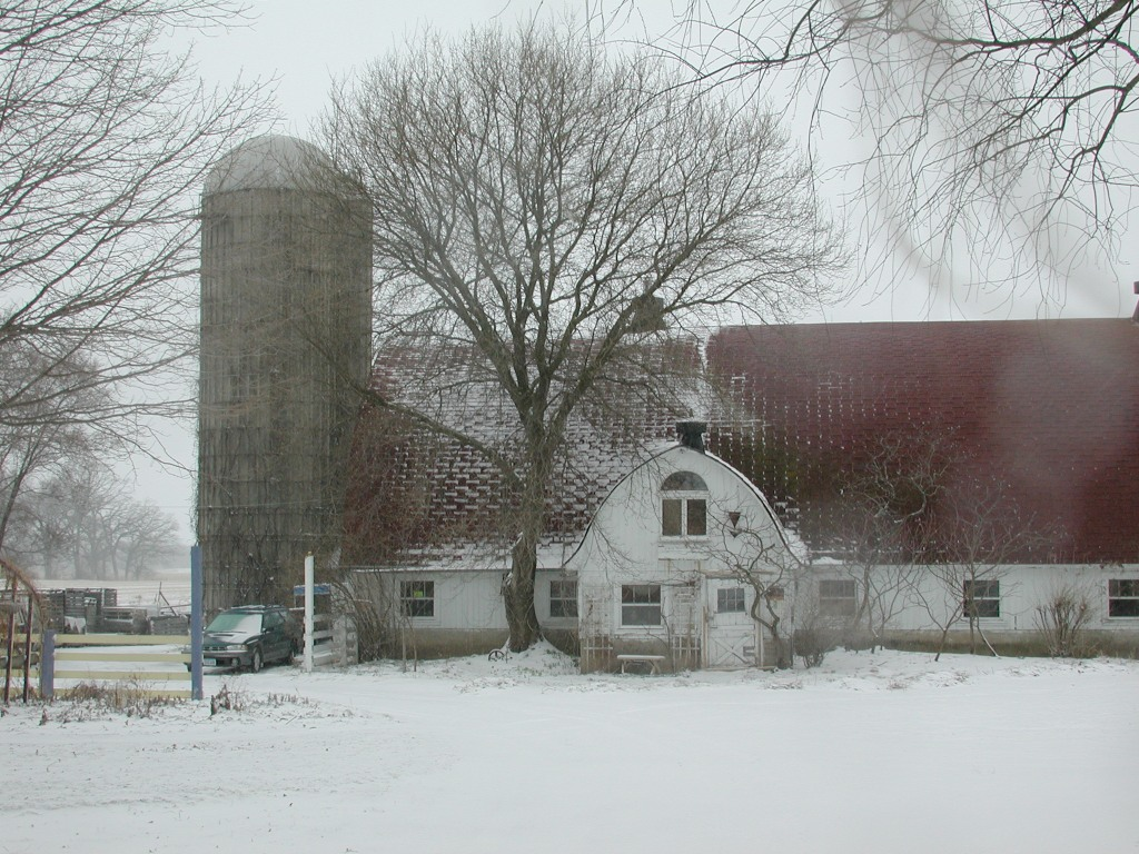 Angelic Organics Barn (previous winter)