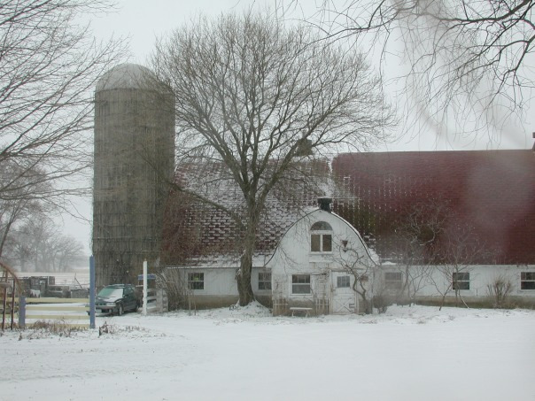 Angelic Organics Barn (previous winter)