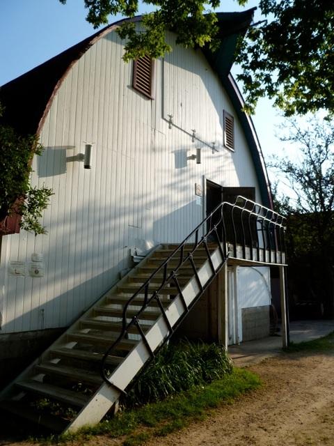 our main barn