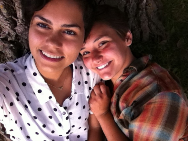 Karla (left) and Alina, Effervescent Field Workers