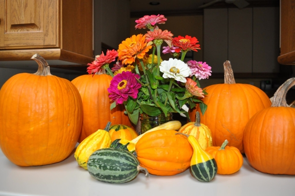 After your wonderful open house, we are ready for autumn. Thanks for a great time! ~Rebekah Wrobbel Stathakis, Facebook Post