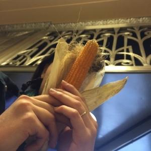 Real (Pop)Corn, echoed by Board of Trade Corn Motifs in the Lobby